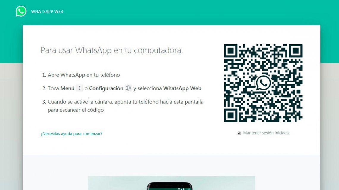 WhatsApp Web permitirá hacer llamadas de voz y videollamadas