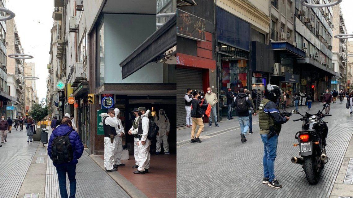 Gendarmería hizo un allanamiento en la city porteña por lavado de dinero
