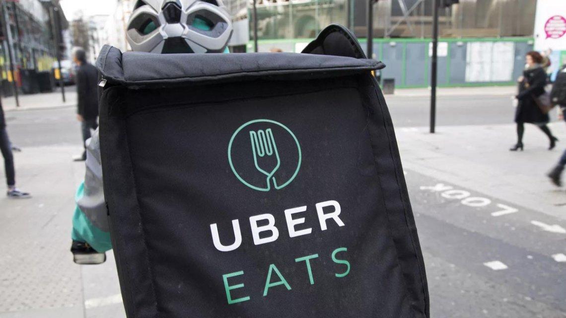 Uber retira de la Argentina y Colombia su servicio de delivery de comidas