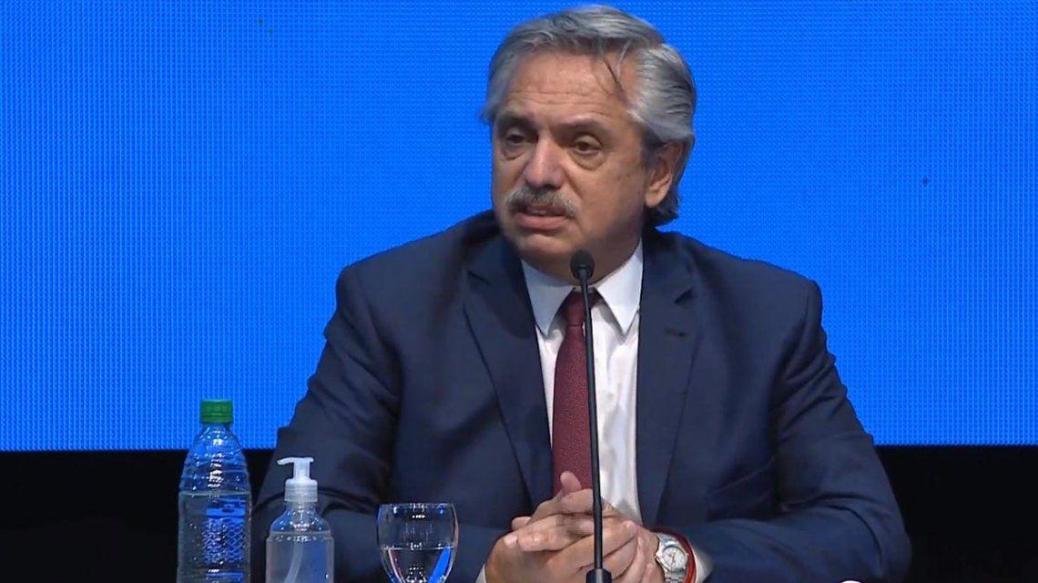 Alberto Fernández extendió el aislamiento estricto en 8 provincias que concentran el 55% de los casos