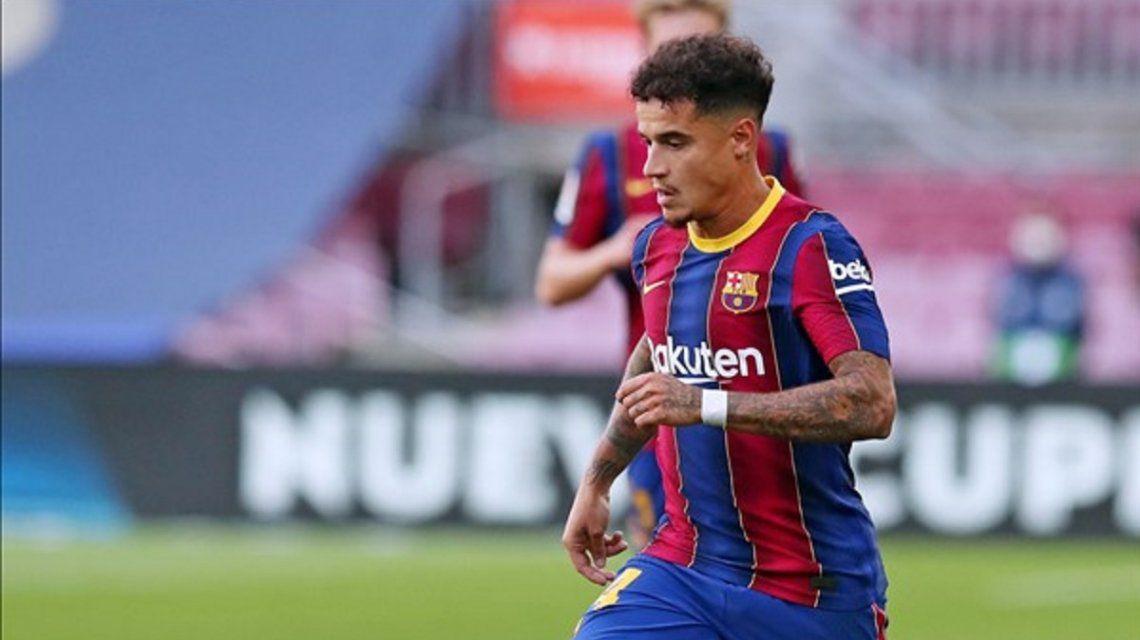 Barcelona suma un nuevo problema: Coutinho está lesionado