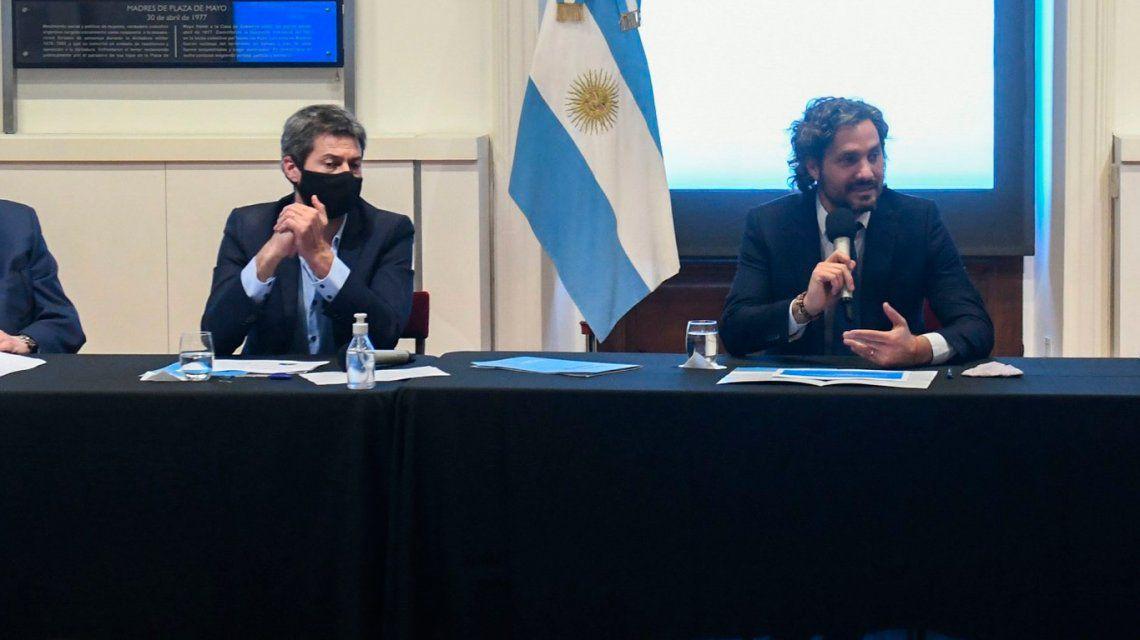 Lammens se reúne con Cafiero para definir los detalles de la apertura a países limítrofes