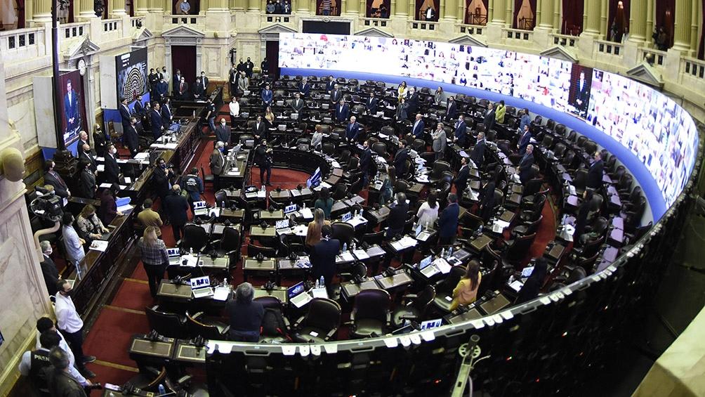 Comenzó la sesión en Diputados en la que se trata el Presupuesto 2021